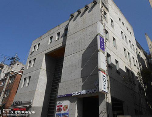 청담동 ES빌딩 옥상방수공사